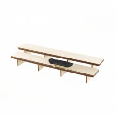 Фингерпарк Stadium double bench деревянный верх